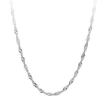 Women's Wave Chain Necklace Chains & Necklaces 557056a5a73f4ba4e1ada8: 35 cm|40 cm|45 cm|50 cm|60 cm|65 cm|70 cm|76 cm