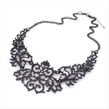Women's Antique Style Necklace Chains & Necklaces 8d255f28538fbae46aeae7: Black|Gold|pink|Silver