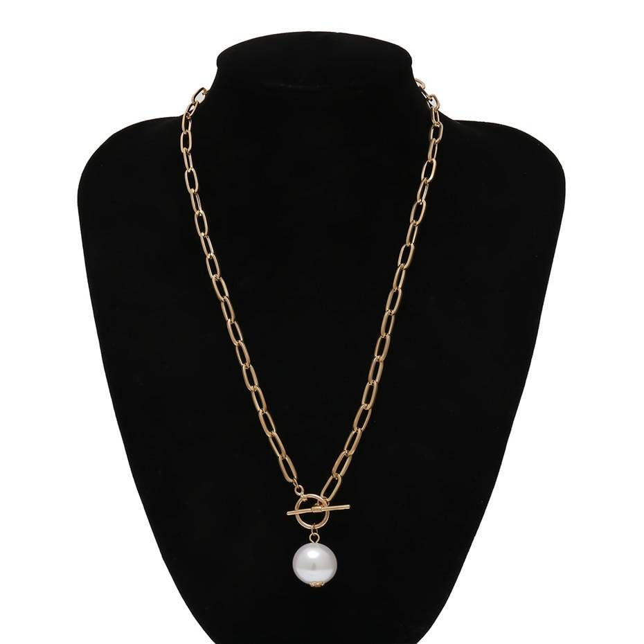 Gothic Elegant Necklace for Women Chains & Necklaces cb5feb1b7314637725a2e7: Gold