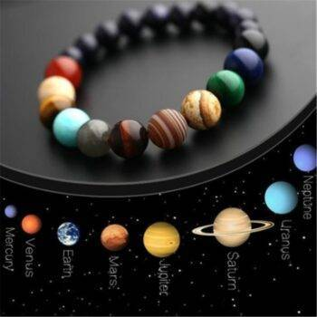 Women's Planet Themed Beaded Bracelet Bracelets 8d255f28538fbae46aeae7: 10 cm|6 cm|8 cm|lava stone|Planet|Planet star