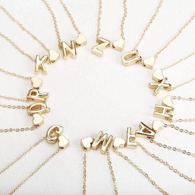 INCREDIBLE Letter Necklace JUST ADDED TO OUR STORE